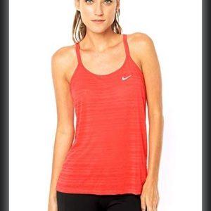 Nike Red Racerback Dri Fit Athletic Tank Top